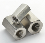 hex coupling nut stainless steel long hexagon heavy nut