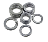 black zinc plated Spring lock washers
